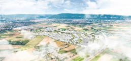 On the former US-military settlement Patrick-Henry-Village in the southwest of Germany the International Architecture Exhibition Heidelberg is developing a knowledge city of tomorrow © KCAP Architects&Planners