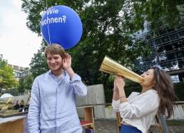 Das erste Jahresthema der IBA'27 im Jahr 2019 ist Wohnen. © IBA'27 / Joachim E. Röttgers