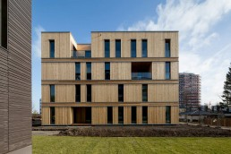 Das CSH Case Study Hamburg gehört zu den Smart Price Houses © Bernadette Grimmenstein / IBA Hamburg GmbH