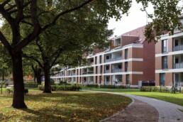 Das umgebaute Weltquartier © Bernadette Grimmenstein / IBA Hamburg GmbH