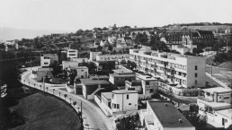 Overall view of the Weissenhof Estate Stuttgart, around 1927 © Stadtarchiv Stuttgart