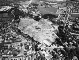 Brachfläche der Zeche Mont-Cenis nach ihrem Abriss, um 1984 © Bildarchiv der Stadt Herne