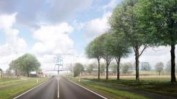 The bicycle bridge in Onderbanken is to be one of the five key gateways to the Parkstad region © Marijke de Goey