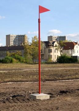 "Entlang des ""Roten Fadens"" kann der neue Landschaftszug erkundet werden. Foto: Doreen Ritzau © IBA-Büro GbR"