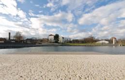 The urban lake as a new town centre, 2008. Image: Doreen Ritzau © IBA-Büro GbR